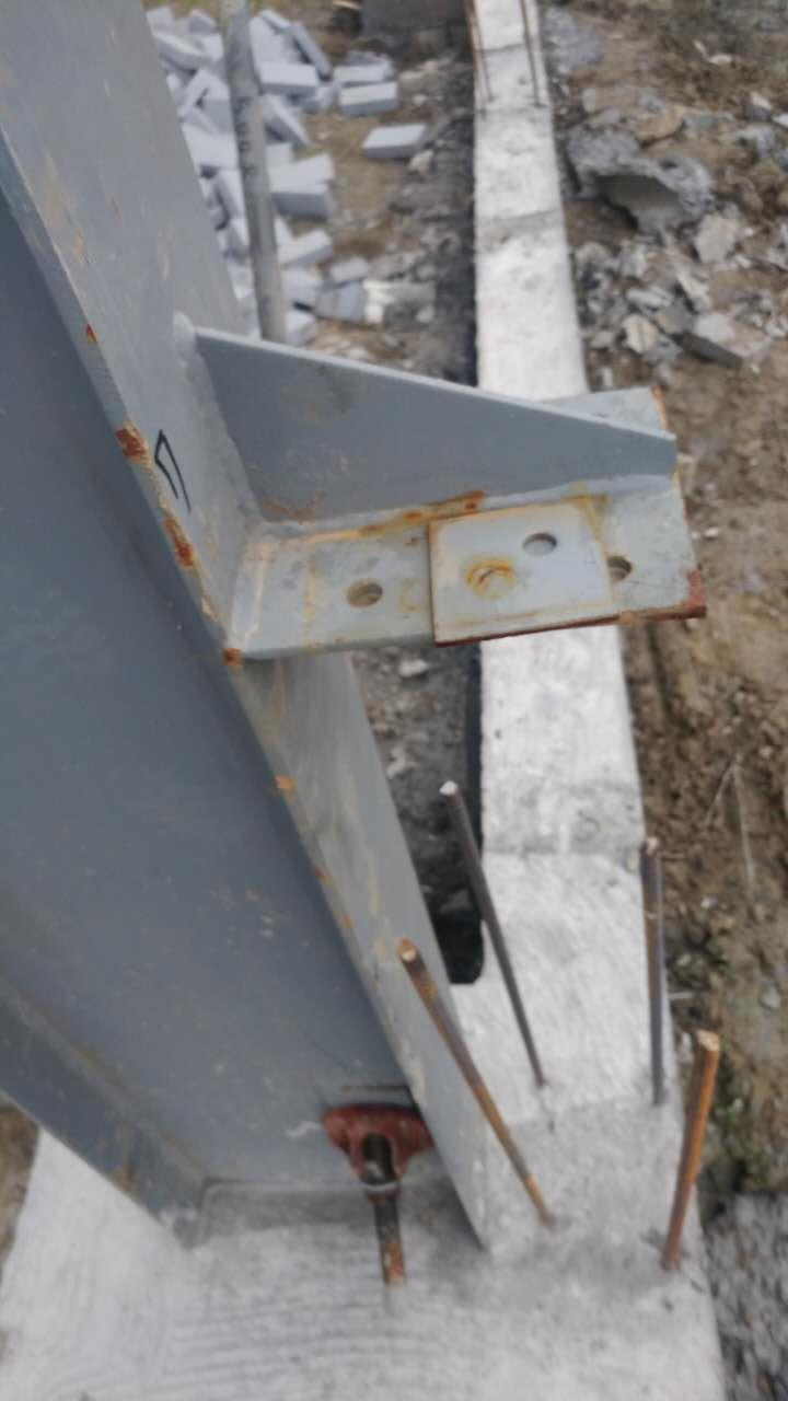 由钢柱,钢结构梁,钢结构预埋,檩条,墙梁,拉条,钢性系杆,垂直支撑,水平