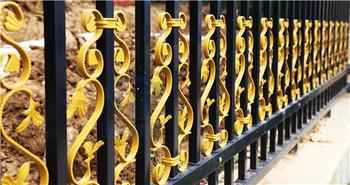 固格澜栅 沈阳护栏 锌钢护栏 庭院围墙护栏 栅栏 围栏