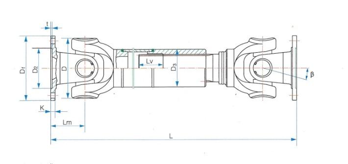 SWC-I轻型万向联轴器