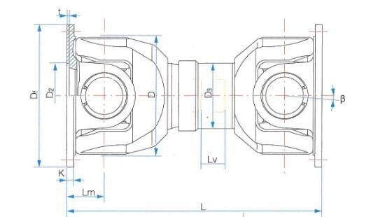 SWCD型短型万向联轴器