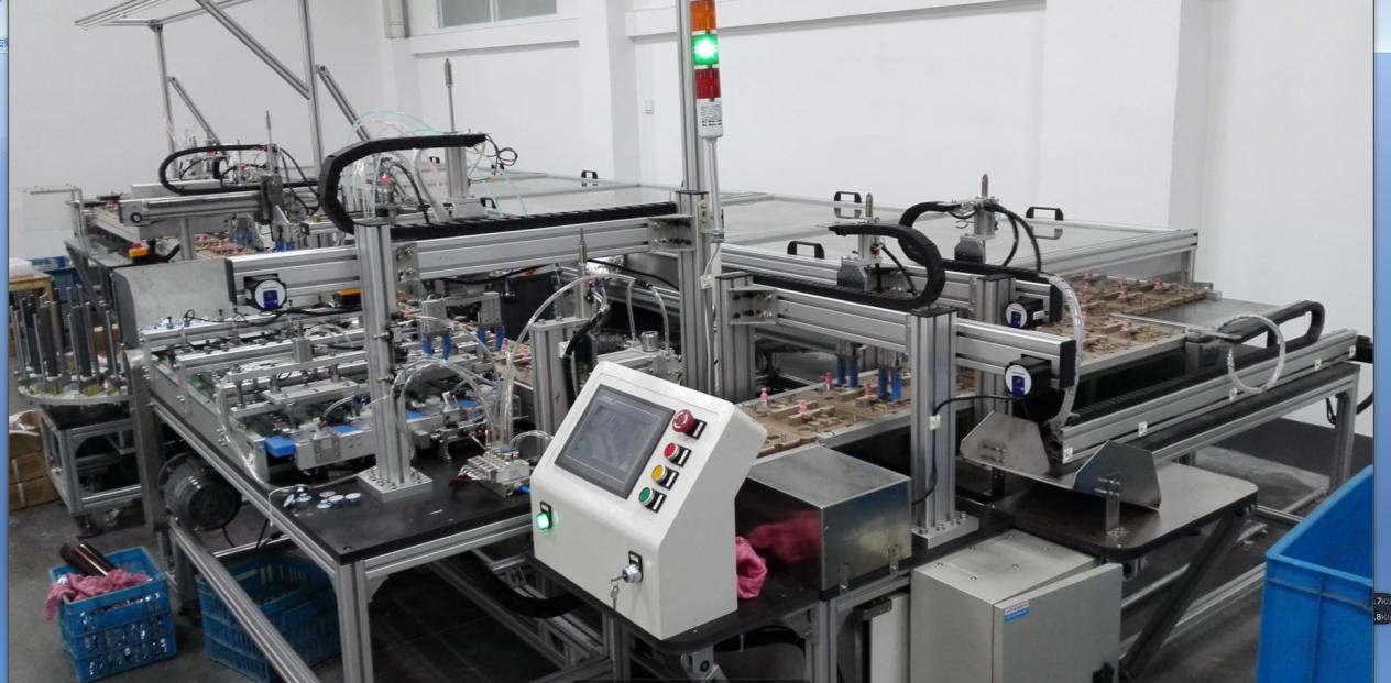 第三代  双工位装配生产线