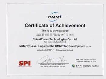 CMMI软件成熟度