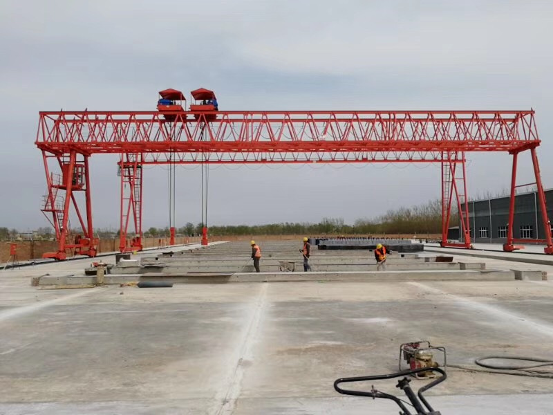 120t提梁門機 河南新東方龍門吊起重機 安裝完畢