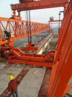 新東方韓起攜手中交二航局 QJ40/180架橋機安裝過孔順利完成