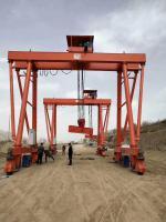 新東方集團制造——MG60噸輪胎吊甘肅天水項目使用中