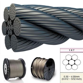 1*7不锈钢丝绳