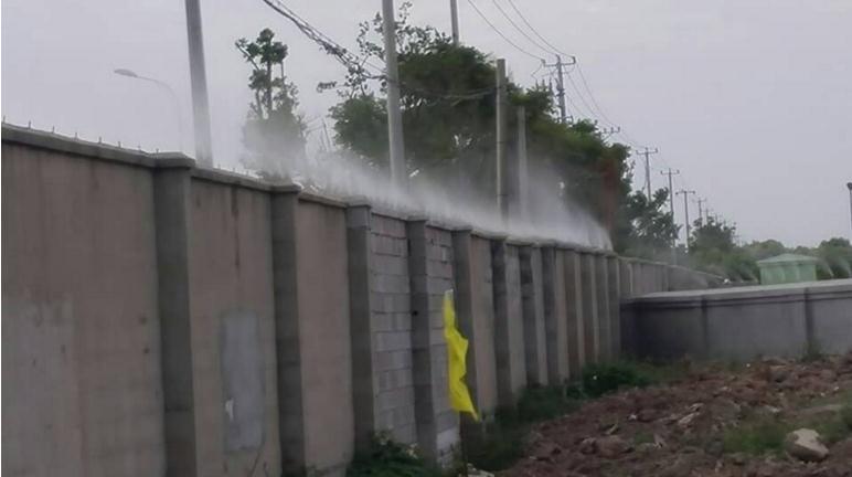 济南围挡喷淋项目