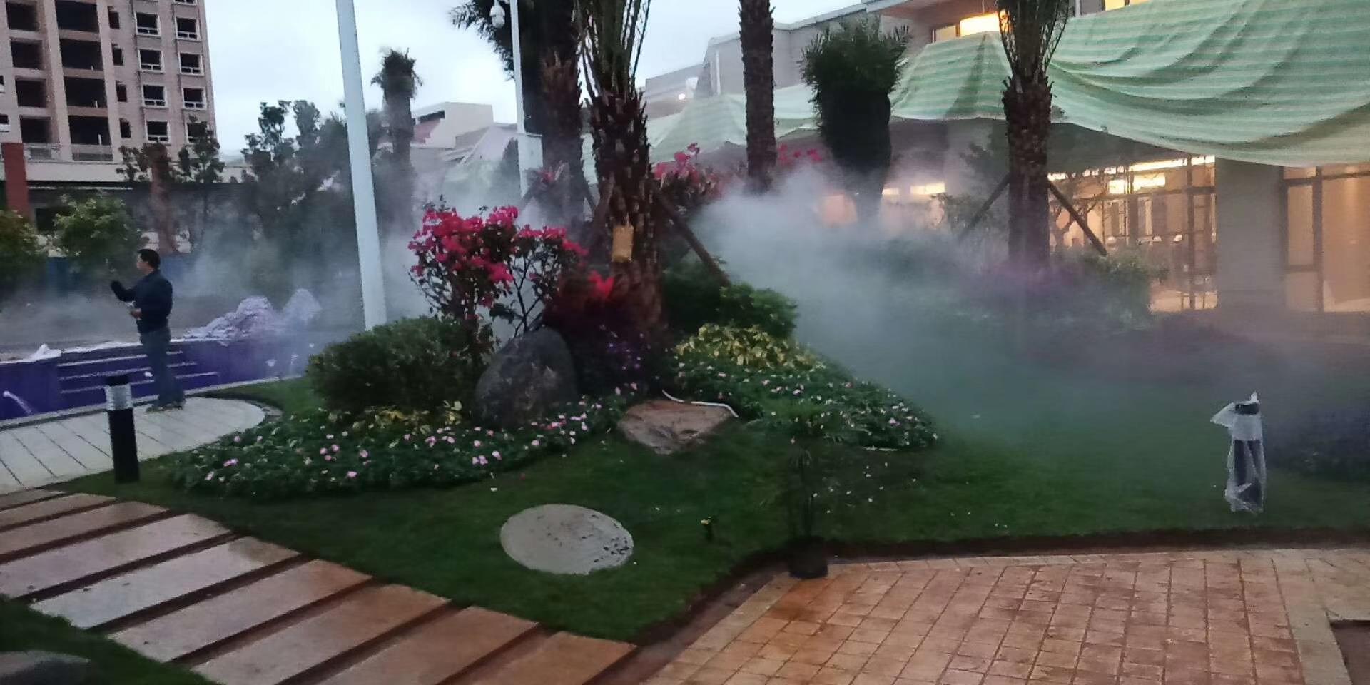 宣武碧桂园景观造雾
