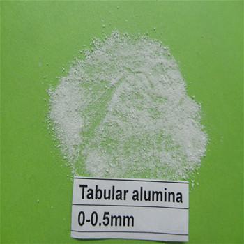 供应烧结板状刚玉0-0.5mm,用于高炉内衬,可定制型号