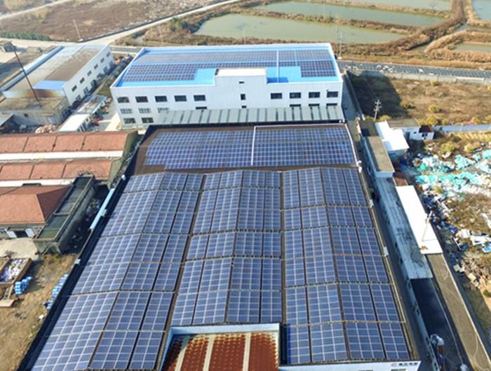 某电气710kw屋顶太阳能发电项目