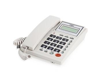 得力 786 来电显示电话机
