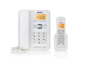 飞利浦 DCTG182 数字无绳子母电话机