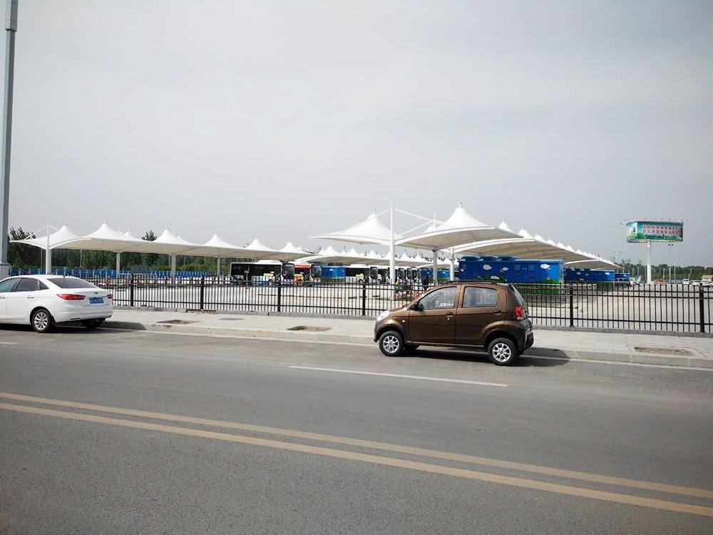 新鄉公交充電樁車棚