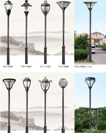户外路灯庭院景观灯杆 3米LED防水景观灯高杆灯 小区庭院灯