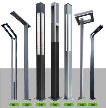3.5米防水方形景观灯柱小区灯 太阳能景观灯方灯照明