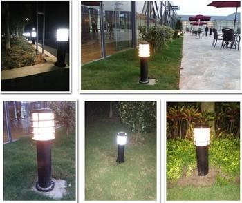 户外草坪灯草地灯方形花园灯 工程矮柱灯铝材型灯别墅路灯