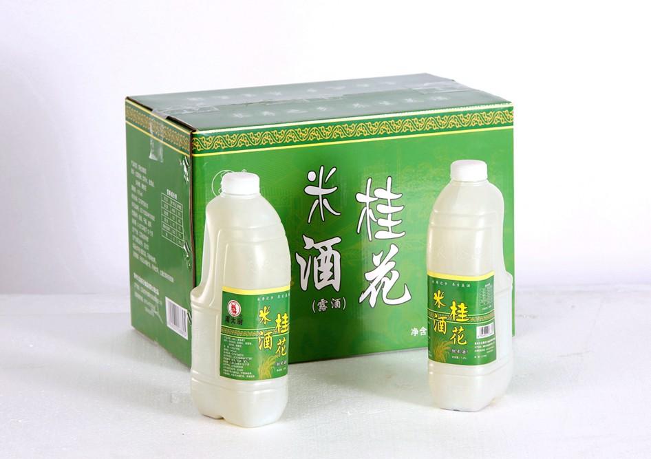 桂花米酒瓶装