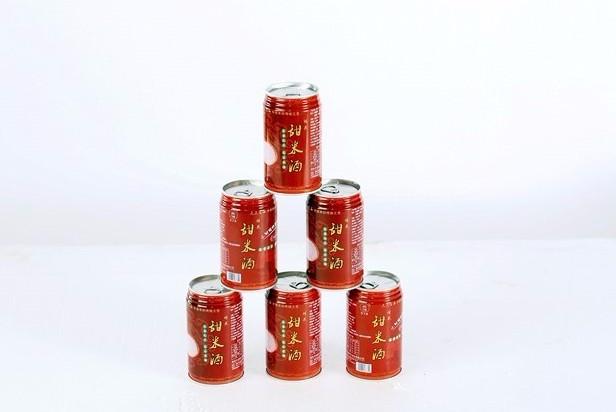 桂花米酒罐装