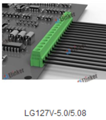 直焊式pcb接线端子  KF/2EG127-5.0电路板端子排