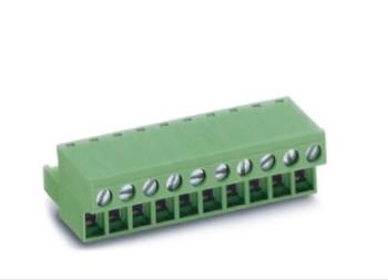 90度插拔式接线端子   PTB350B-10绿色端子LC3-5.08
