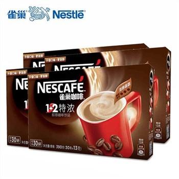 雀巢特浓1+2速溶咖啡30g(30条/盒)
