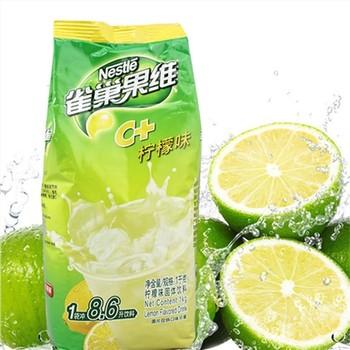 雀巢维C柠檬味冲饮粉1000g(12包/箱)