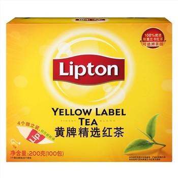立顿黄牌精选红茶100包装