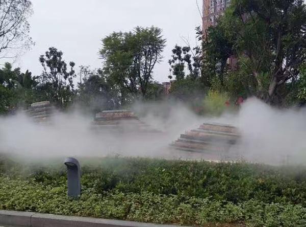 小區噴霧工程