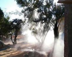 高壓噴霧機檢查噴頭霧流形狀和噴嘴噴量