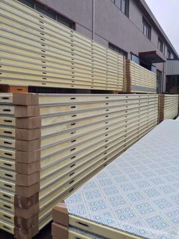 10公分厚彩钢板冷库板