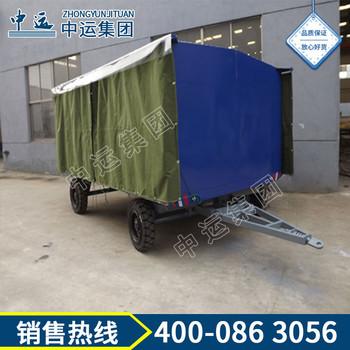雨棚平板牵引拖车