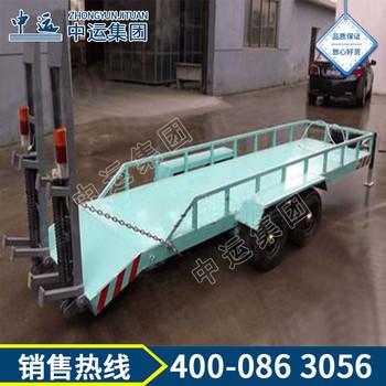 履带车用专用牵引平板拖车