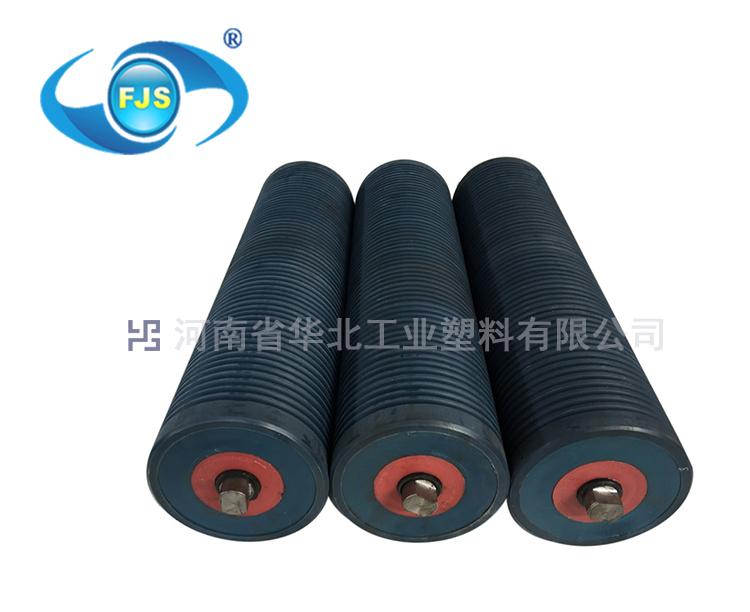 托輥生產廠家華北塑料專業研發低噪音托輥