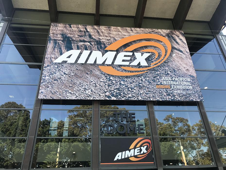 參加AIMEX澳大利亞國際礦業展