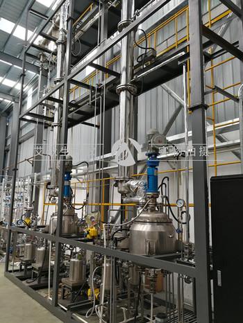 双塔自动化连续精馏装置