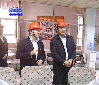 河南能源党委书记董事长马富国到安阳园区调研