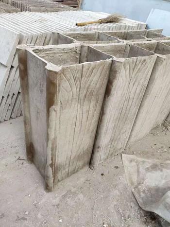 GRC仿木纹屋脊