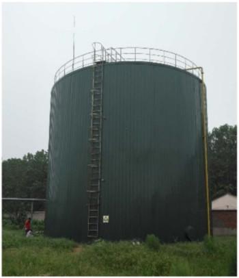 高浓度有机废水处理UCMBR处理系统(专利证号:ZL201620322590.4)