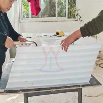 斜板填料环保水处理 聚乙烯pp斜板填料 沉淀池过滤斜板填料