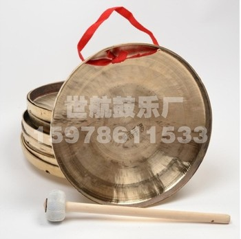 22CM 22公分 低音手锣 小锣 铜锣 响铜锣 戏曲乐器锣